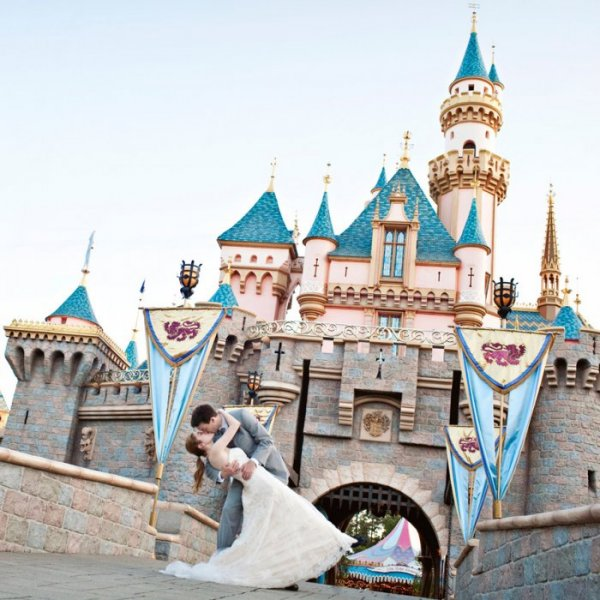 Storybook Disney Wedding