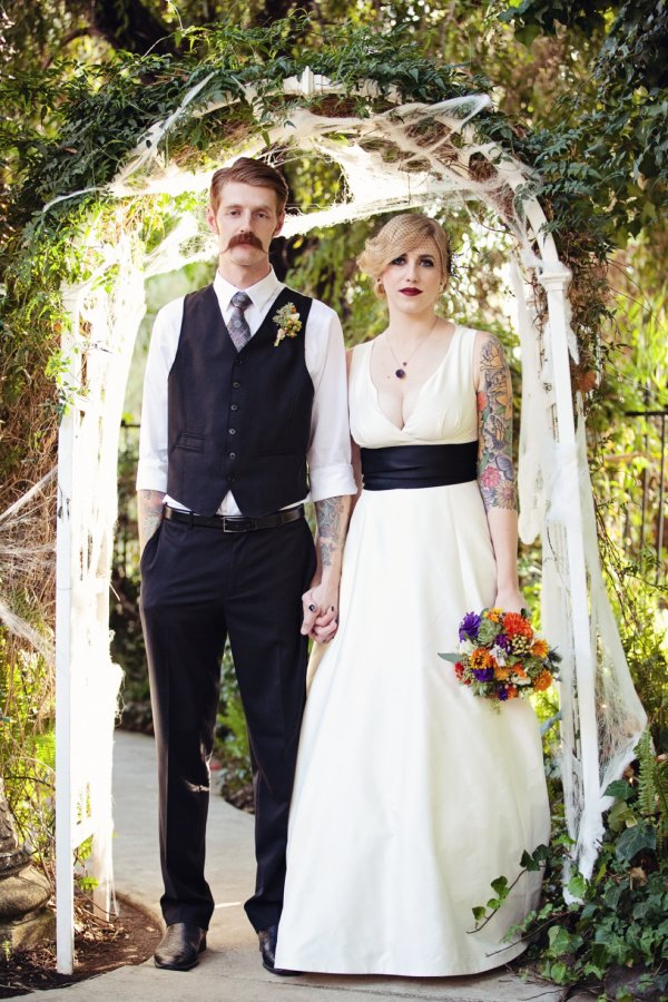 Bewitching Halloween Wedding