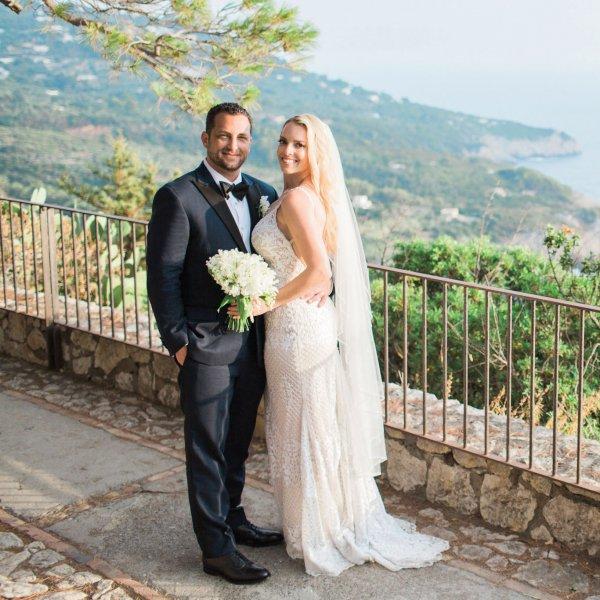 real wedding in capri italy