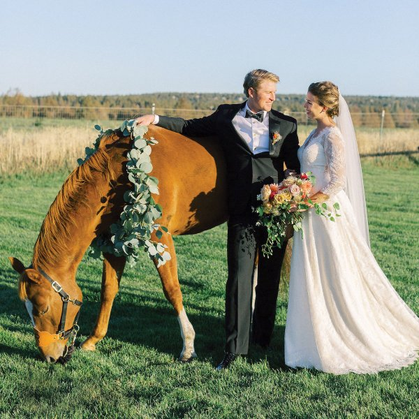 oregon trail wedding