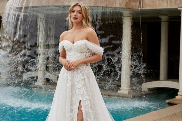 casablanca bridal mae wedding gown