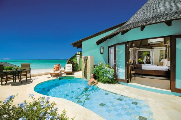 Sandals Grande St. Lucian Private Pool - Rondoval Suite