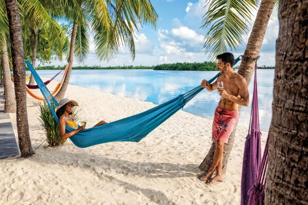 Florida Keys Couple on Hammock