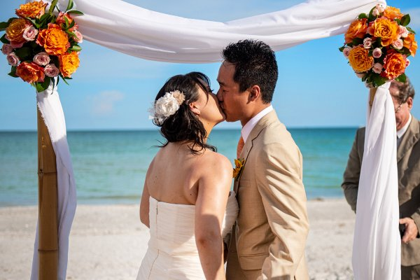 The Beaches of Fort Myers and Sanibel - Beach Wedding Ceremony