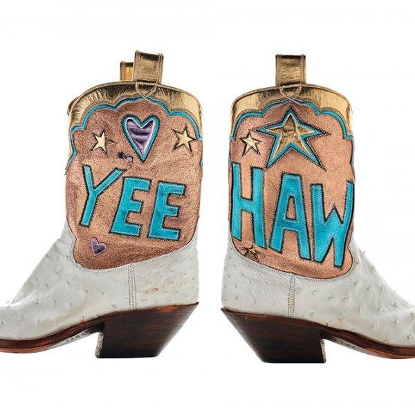 Yee haw cowboy boots