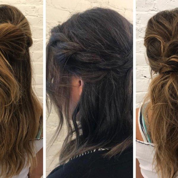 3 Easy DIY Wedding Day Hair Ideas