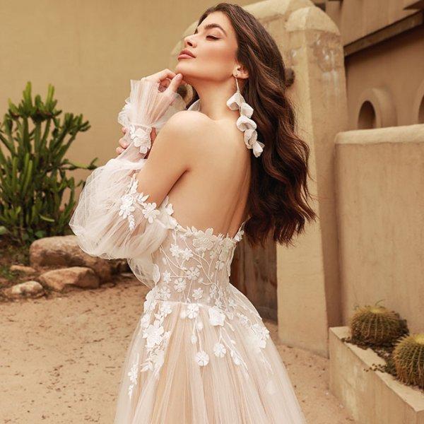 Romantic Spring Wedding Dresses by Chic Nostalgia