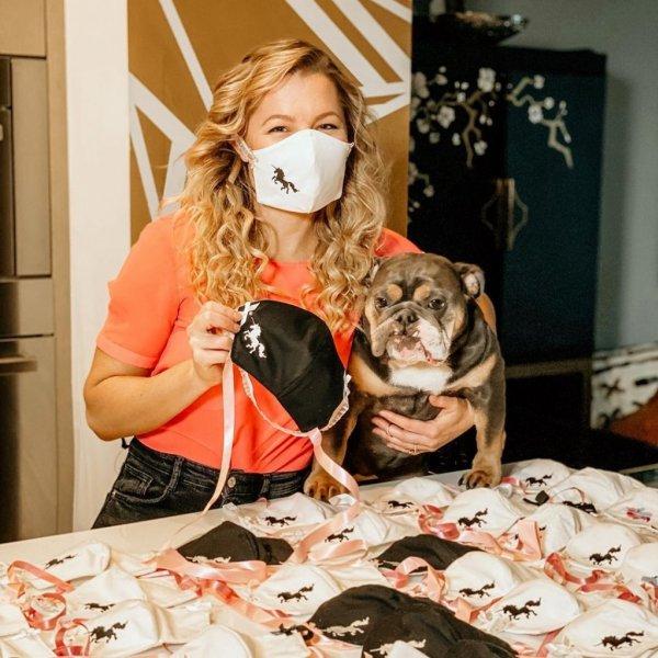 Hayley Paige + Le Gartier Covid-19 Masks