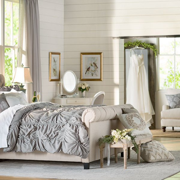 bedding wedding registry