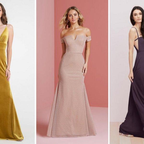 Fall and Winter 2020 Bridesmaid Dresses