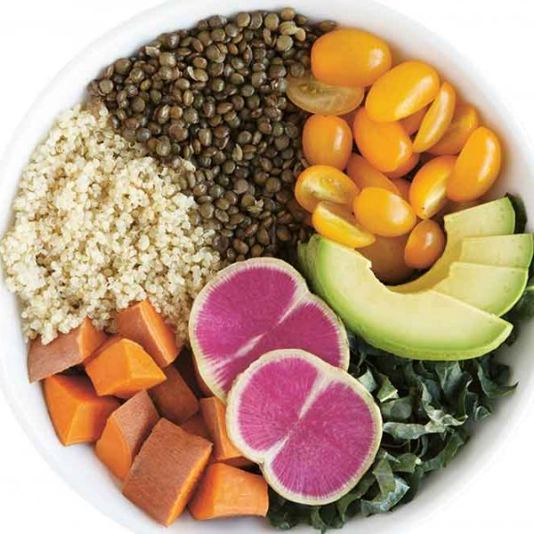 healthy food bowl