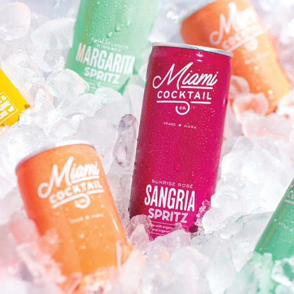 Miami Cocktail Co organic spritz