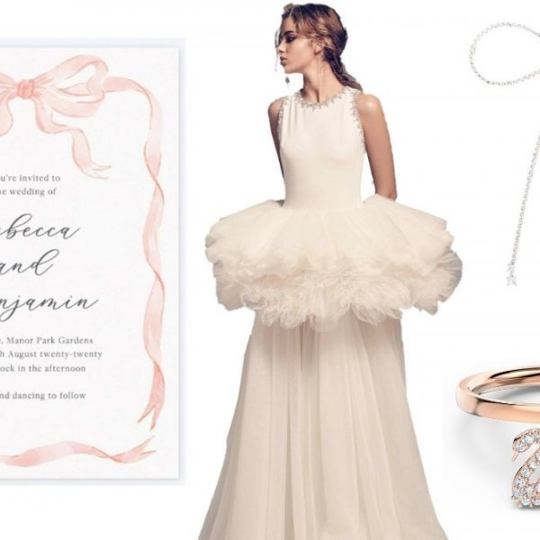 swan lake wedding inspiration