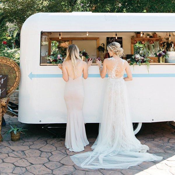 wedding camper bar