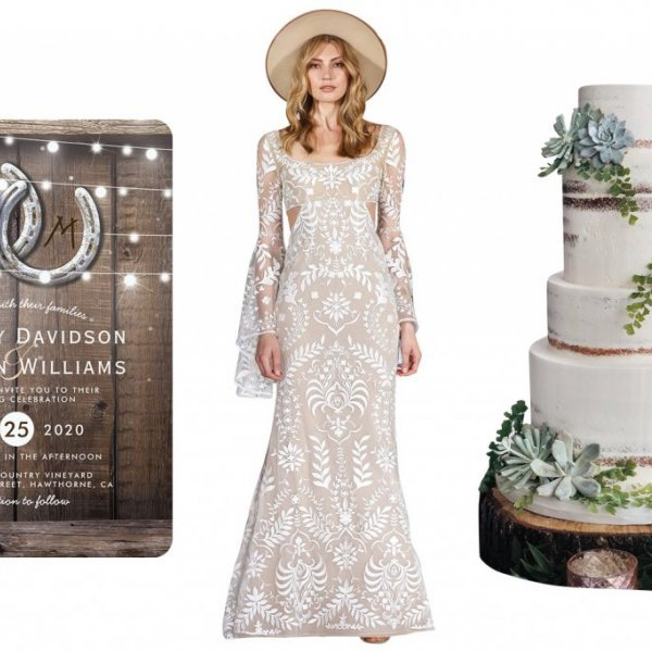 Wild west wedding inspiration