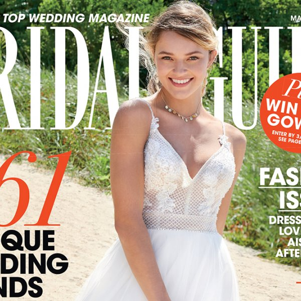 Bridal Guide March April 2020 cover