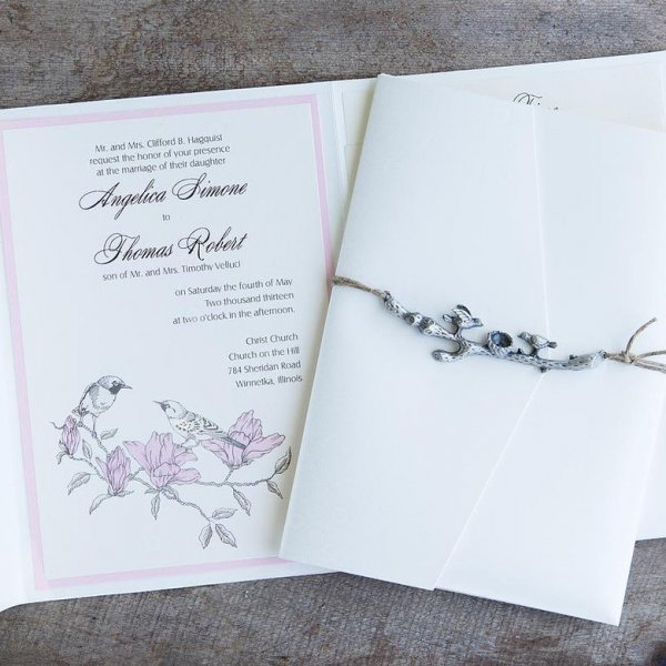 Wedding Invitations + Guest List