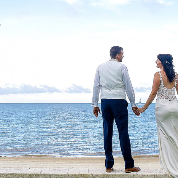 Real destination weddings at Palace Resorts