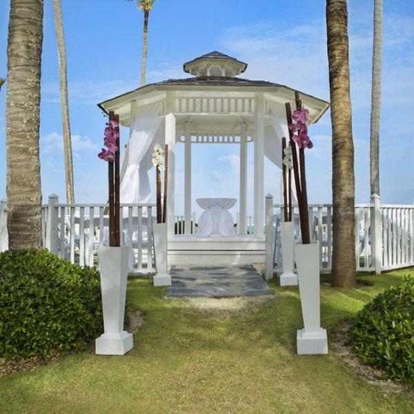 Paradisus Punta Cana wedding gazebo