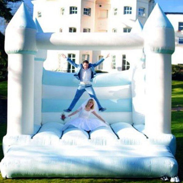 wedding bounce house