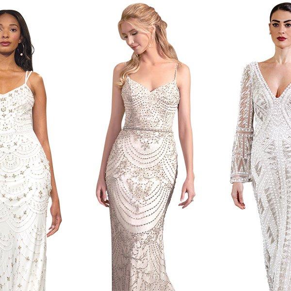 jazz wedding gowns