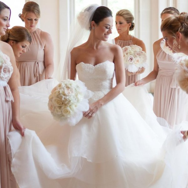 bride party before wedding wedding ideas