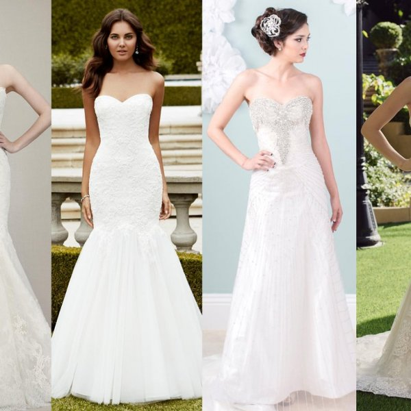 Gorgeous brides in non traditional wedding dresses for Where to buy non traditional wedding dress