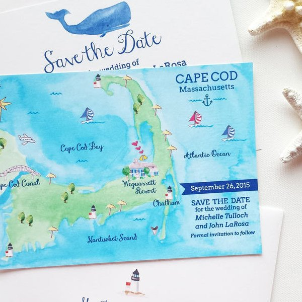 Creative New Save the Date Ideas   BridalGuide From Bridal Guide
