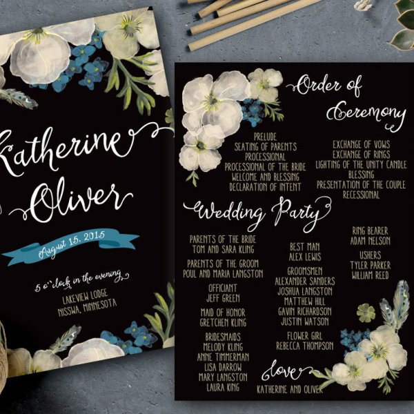 50 Ideas for Your Wedding Invitations BridalGuide