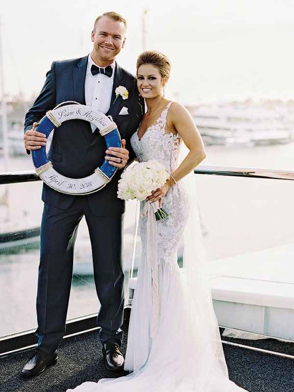 Love at Sea: Angelica & Liam in Newport Beach, CA