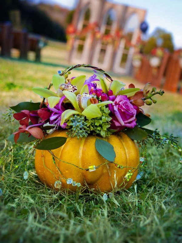 Rustic Halloween Wedding: Aspen & Brad