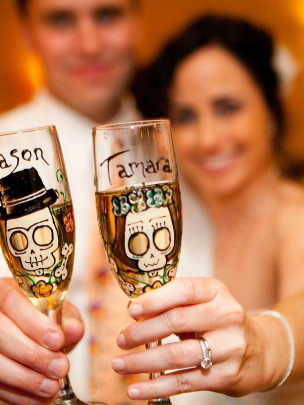 Classic Halloween Wedding: Tamara & Jason