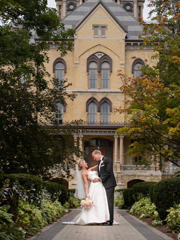 Collegiate Romance: Brittan & Matt in South Bend, IN