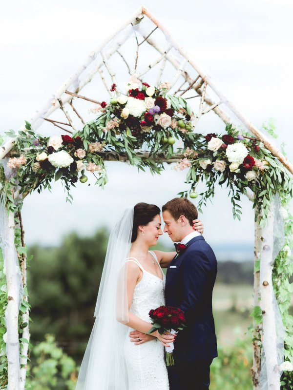For Love and Wine: Margo & David in Suttons Bay, MI