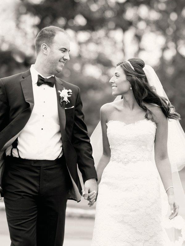Black-Tie Affair: Rachel & Steve in Great Neck, NY