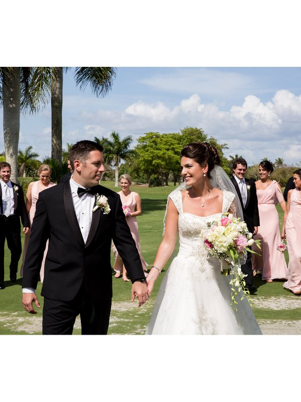 Seaside Romance: Kerri & Mike in Naples Beach, FL