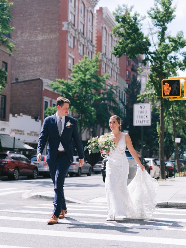 Anna and Bennett Walking