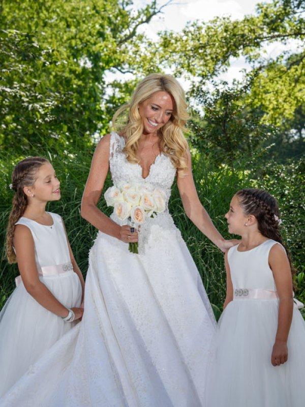Bride And Flower Girls 0