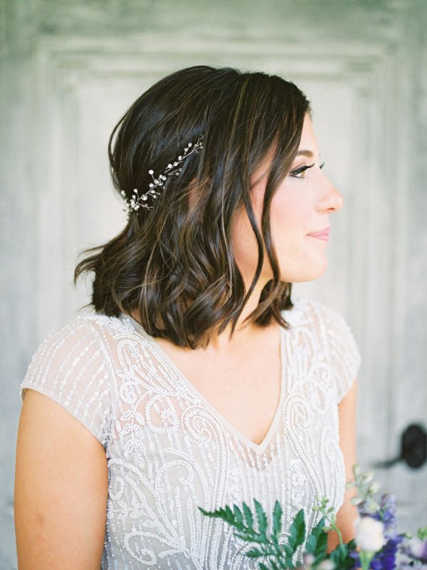Bride Hair Makeup Headpiece