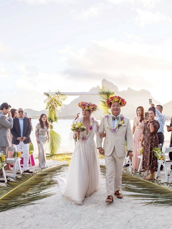 Love Island: Noran & Jay in Bora Bora