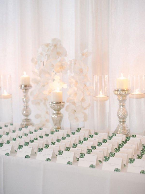 Miami Wedding Escort Cards