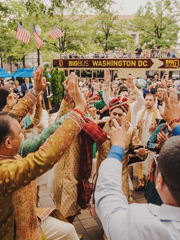 Multi Cultural Bash: Reema & Christoph in Washington, D.C.