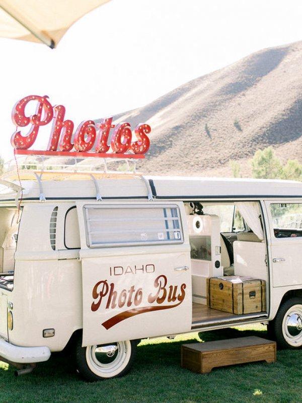 Photo Bus Mountain Love
