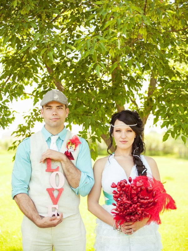 Love, Rainbows, and Glitter: Nancy & Dylan in Manitoba, Canada