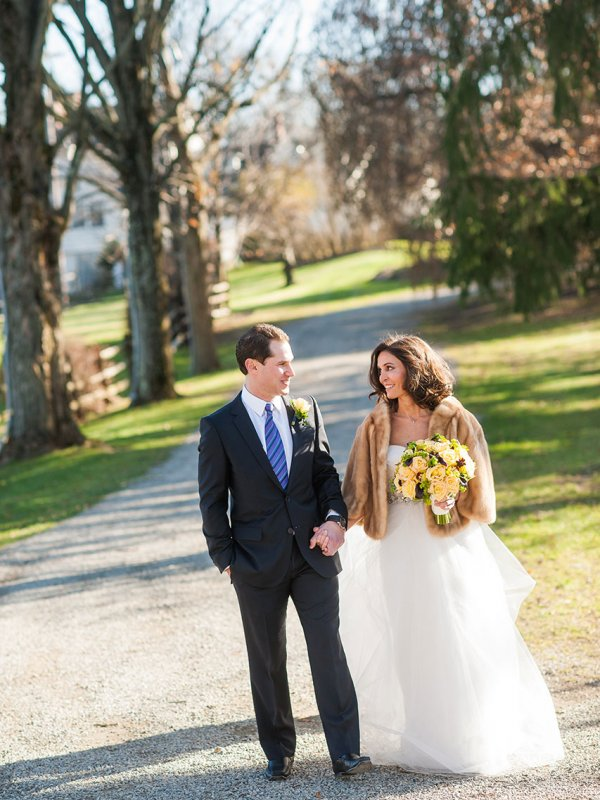 Country Chic: Danielle & Erik in Andover, NJ