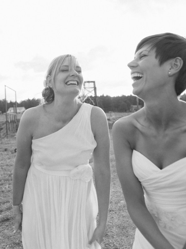 Simply Beautiful: Liz and Sarah in Evergreen, CO