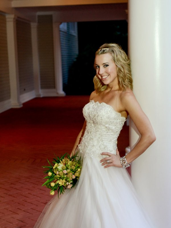 Hilarie S Mom Owns A Bridal Boutique In Texas Dressin Up So When It Came Time To For Wedding Dress Her Brought The Mecca New