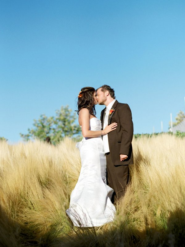 Garden Magic: Ali & David in Sonoma, CA