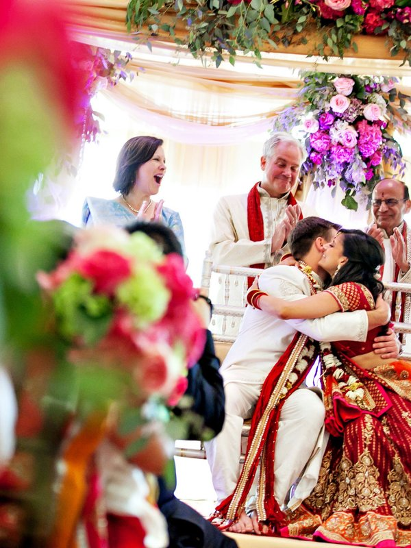 Vibrant Indian Fusion Wedding: Rupal & Mitchel in Poughkeepsie, NY