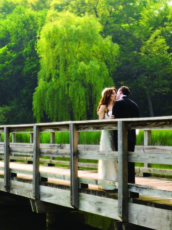 Green Scene: Jennifer & Steven in Rye Brook, NY